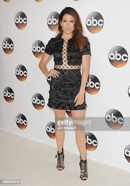Actress Karla Souza arrives at Disney ABC Television Group Hosts TCA Summer Press Tour at the Beverly Hilton Hotel on August 4 2016 in Beverly Hills...