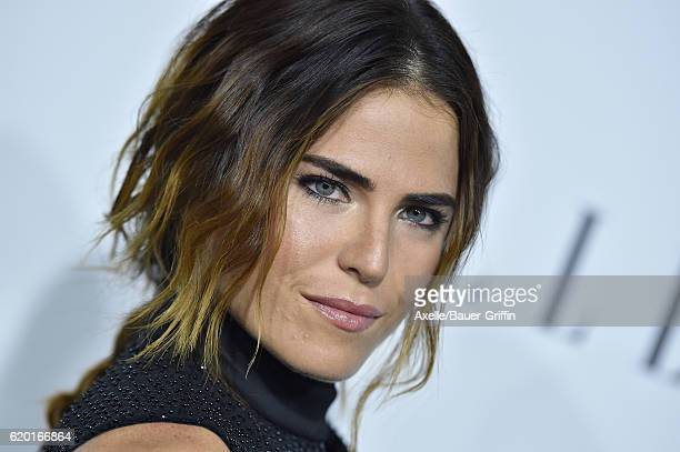 Actress Karla Souza arrives at the 23rd Annual ELLE Women In Hollywood Awards at Four Seasons Hotel Los Angeles at Beverly Hills on October 24 2016...