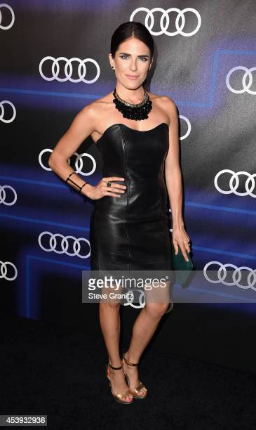 Actress Karla Souza attends Audi Emmy Week Celebration at Cecconi's Restaurant on August 21 2014 in Los Angeles California