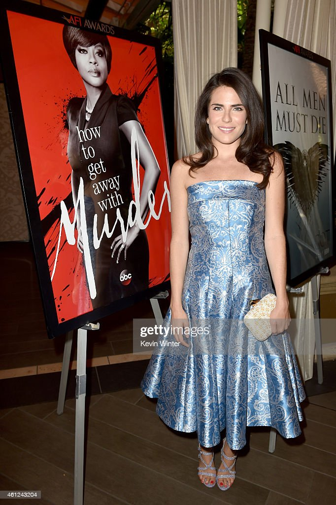 Actress Karla Souza attends the 15th Annual AFI Awards at Four Seasons Hotel Los Angeles at Beverly Hills on January 9, 2015 in Beverly Hills, California.
