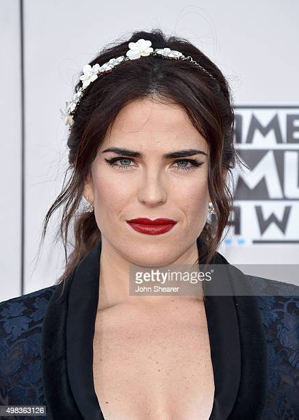 Actress Karla Souza attends the 2015 American Music Awards at Microsoft Theater on November 22 2015 in Los Angeles California