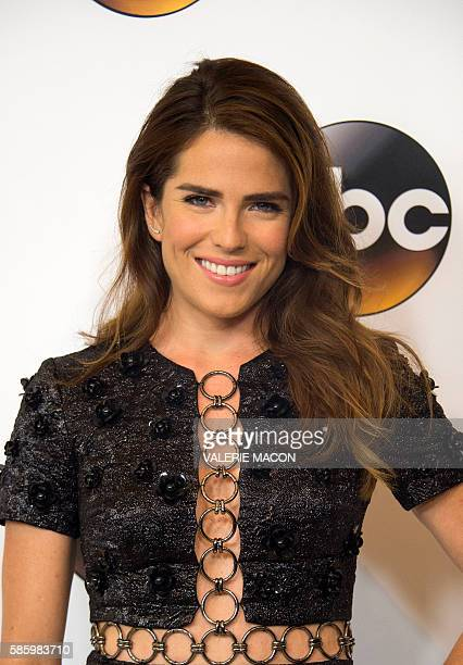 Actress Karla Souza attends The 2016 Disney ABC Television Group TCA Summer Press Tour in Beverly Hills California on August 4 2016 / AFP / VALERIE...