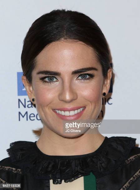 Actress Karla Souza attends the 20th Annual National Hispanic Media Coalition Impact Awards Gala at Regent Beverly Wilshire Hotel on February 24 2017...