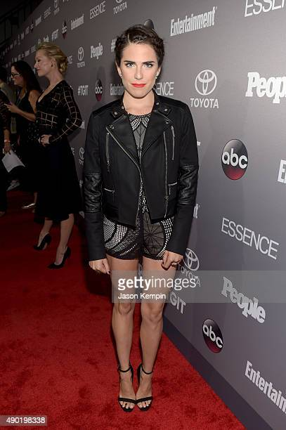 Actress Karla Souza attends the Celebration of ABC's TGIT Lineup presented by Toyota and cohosted by ABC and Time Inc's Entertainment Weekly Essence...