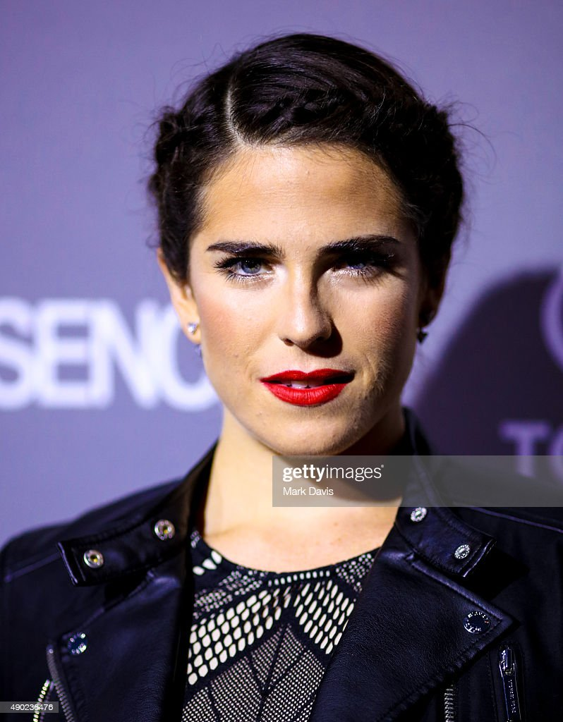 Actress Karla Souza attends the celebration of ABC's TGIT Line-up held at Gracias Madre on September 26, 2015 in West Hollywood, California.