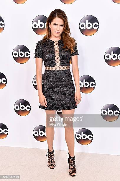 Actress Karla Souza attends the Disney ABC Television Group TCA Summer Press Tour on August 4 2016 in Beverly Hills California