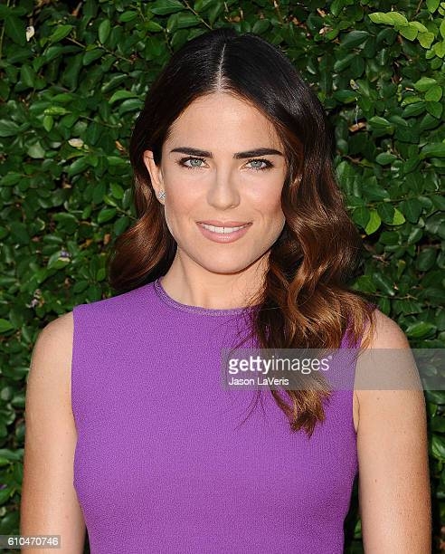 Actress Karla Souza attends the Rape Foundation's annual brunch on September 25 2016 in Beverly Hills California