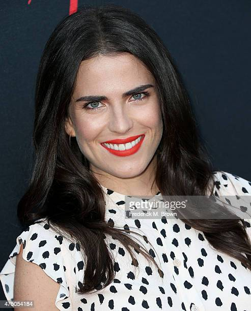 Actress Karla Souza attends the screening of 'How To Get Away With Murder' ATAS Event at the Sunset Gower Studios on May 28 2015 in Hollywood...