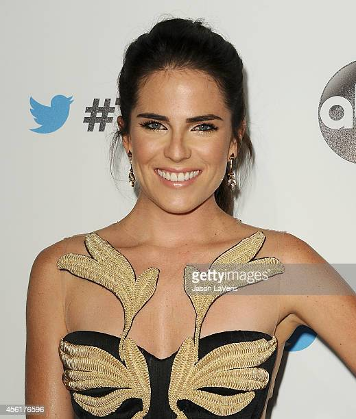 Actress Karla Souza attends the #TGIT premiere event hosted by Twitter at Palihouse Holloway on September 20 2014 in West Hollywood California
