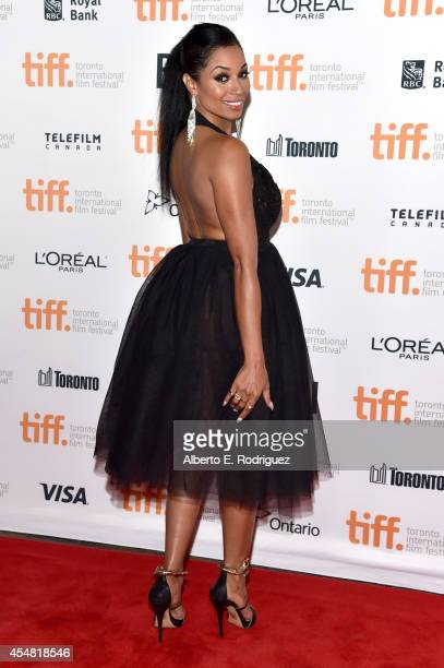 Actress Karlie Redd attends the Top Five premiere during the 2014 Toronto International Film Festival at Princess of Wales Theatre on September 6...