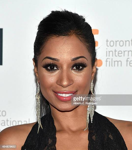 """Actress Karlie Redd attends the """"Top Five"""" premiere during the 2014 Toronto International Film Festival at Princess of Wales Theatre on September 6,..."""