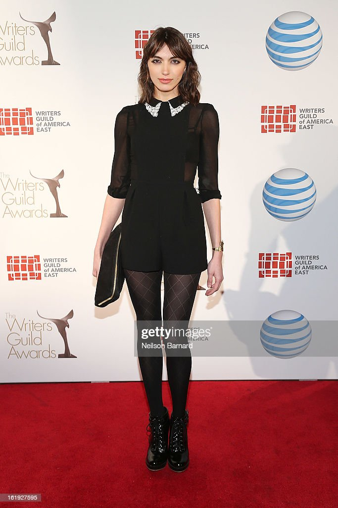 Actress Karme Boixadera attends the 65th annual Writers Guild East Coast Awards at B.B. King Blues Club & Grill on February 17, 2013 in New York City.