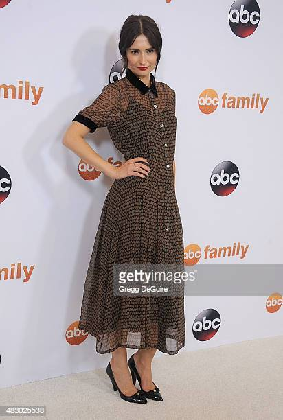 Actress Karolina Wydra arrives at the Disney ABC Television Group's 2015 TCA Summer Press Tour on August 4 2015 in Beverly Hills California