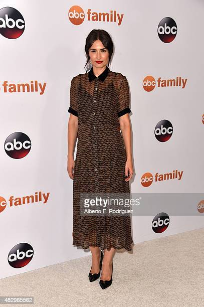 Actress Karolina Wydra attends Disney ABC Television Group's 2015 TCA Summer Press Tour at the Beverly Hilton Hotel on August 4 2015 in Beverly Hills...
