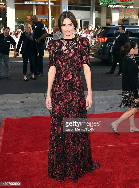 Actress Karolina Wydra attends the premiere of HBO's 'True Blood' season 7 and final season at TCL Chinese Theatre on June 17 2014 in Hollywood...