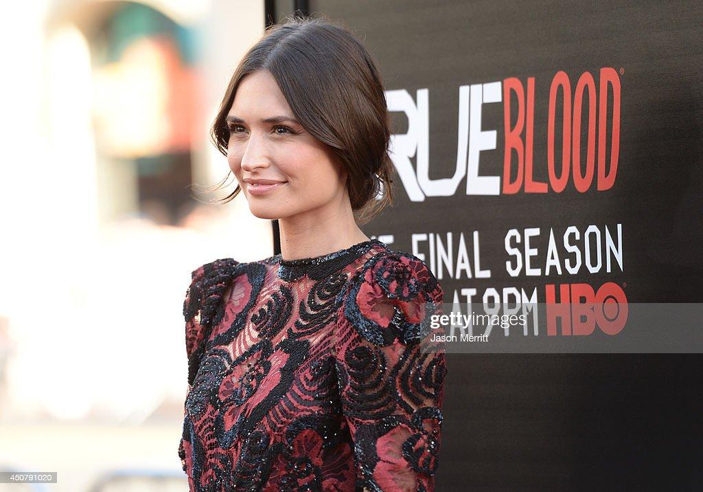 "Premiere Of HBO's ""True Blood"" Season 7 And Final Season - Arrivals : News Photo"