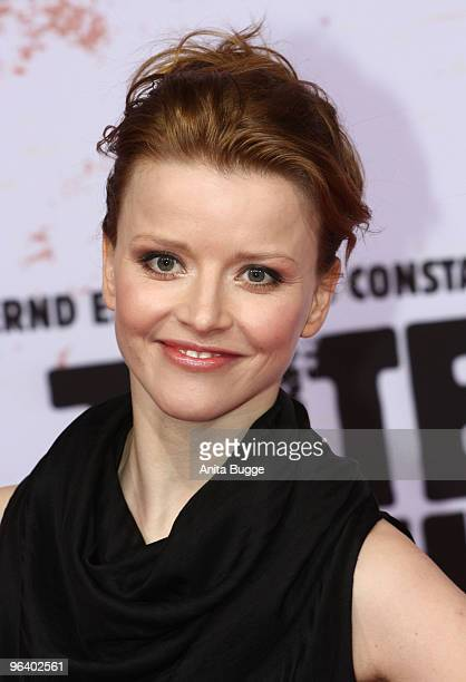 Actress Karoline Schuch attends the 'Zeiten Aendern Dich' German Premiere on February 3 2010 in Berlin Germany