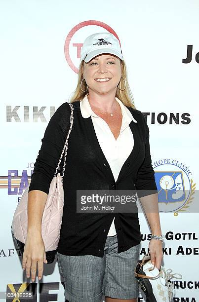 Actress Karri Turner attends the inagural SAG Foundation Golf Classic Celebrity Benefit at Lakeside Golf Club on August 16 2010 in Toluca Lake...
