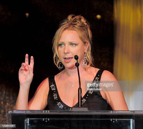 Actress Karri Turner during Life Changing Lives Gala at St Regis Monarch Beach Resort on September 11 2009 in Dana Point California