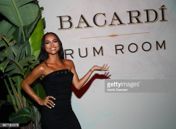 Actress Karrueche Tran attends the Bacardi Premium Launch at The DL on May 10, 2018 in New York City.