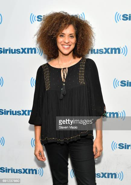 Actress Karyn Parsons visits SiriusXM Studios on June 1 2017 in New York City