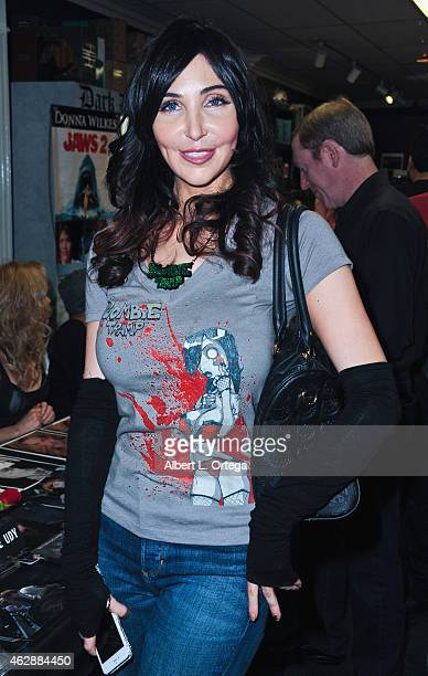 Actress Kasey Poteet at the Second Annual David DeCoteau's Day Of The Scream Queens held at Dark Delicacies Bookstore on January 25, 2015 in Burbank,...