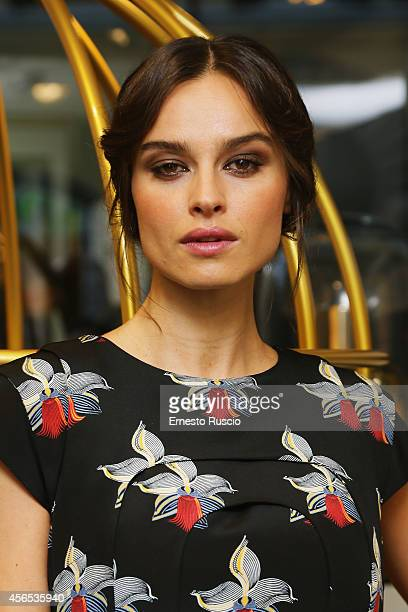 Actress Kasia Smutniak attends the 'Fendi's New Perfume FURIOSA' at Sephora on October 2 2014 in Rome Italy