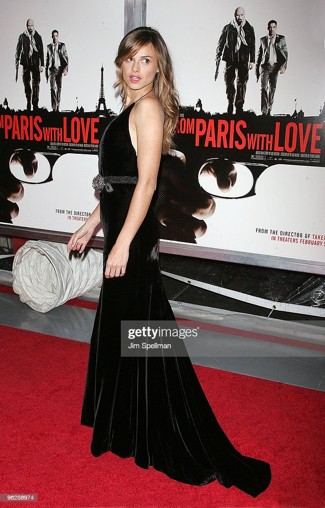 """""""From Paris With Love"""" New York Premiere - Outside Arrivals"""