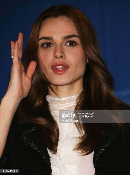 Actress Kasia Smutniak attends the 'Quiet Chaos' Photocall as part of the 58th Berlinale Film Festival at the Grand Hyatt Hotel on February 13 2008...