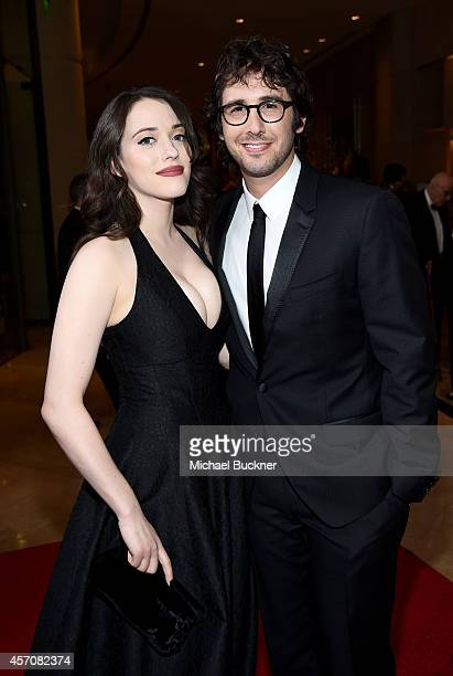 Actress Kat Dennings and recording artist Josh Groban attend the 2014 Carousel of Hope Ball presented by MercedesBenz at The Beverly Hilton Hotel on...