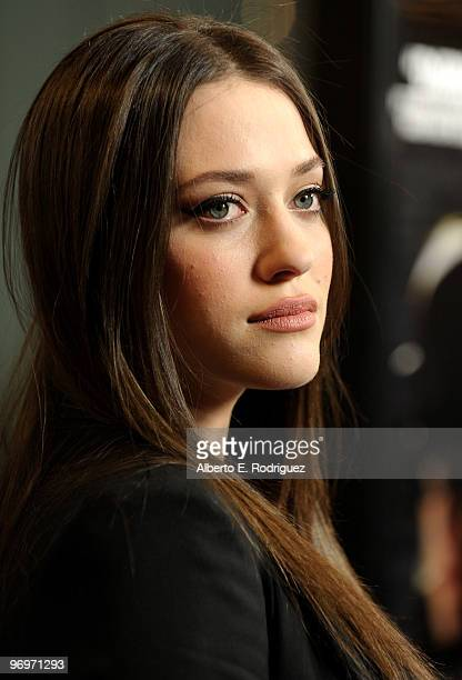 Actress Kat Dennings arrives at the premiere of Darius Films' 'Defendor' on February 22 2010 in Los Angeles California