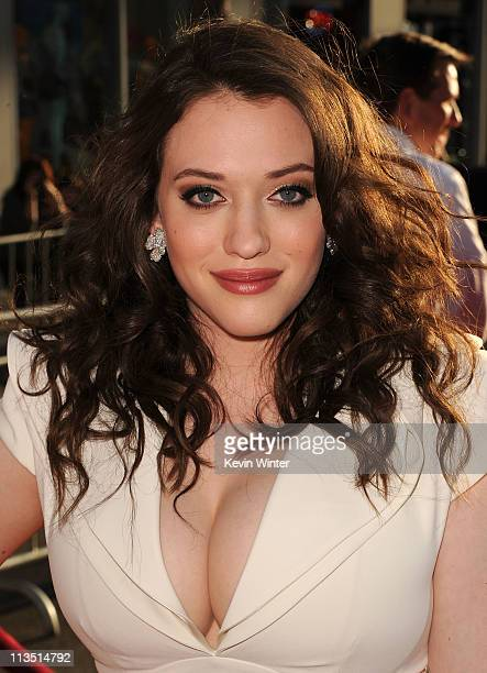 Actress Kat Dennings arrives at the premiere of Paramount Pictures' and Marvel's 'Thor' held at the El Capitan Theatre on May 2 2011 in Los Angeles...