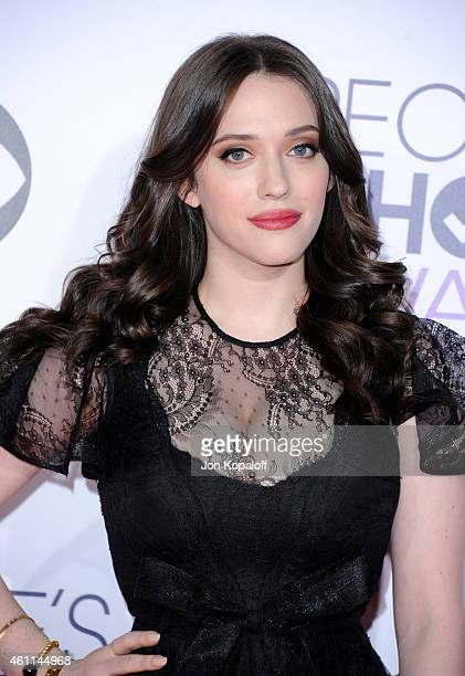 Actress Kat Dennings attends The 41st Annual People's Choice Awards at Nokia Theatre LA Live on January 7 2015 in Los Angeles California