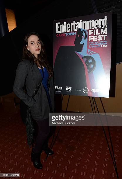 Actress Kat Dennings attends the screening for 'Coraline' during the Entertainment Weekly CapeTown Film Festival Presented By The American...