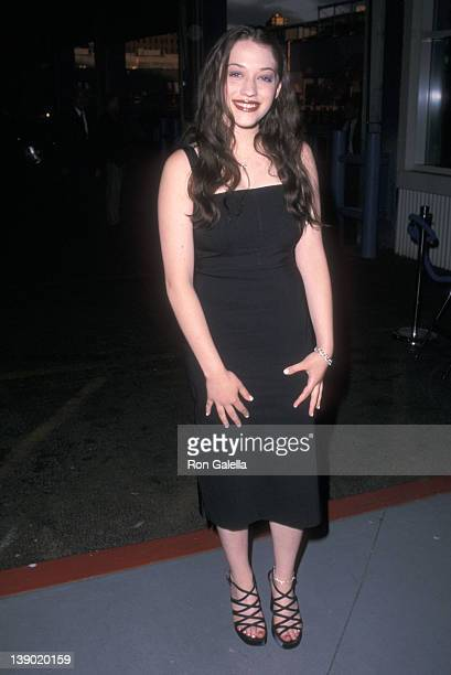 Actress Kat Dennings attends the WB Television Upfront Party on May 15 2001 at The Lighthouse Chelsea Piers in New York City