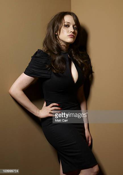 Actress Kat Dennings from Daydream Nation poses for a portrait during the 2010 Toronto International Film Festival in Guess Portrait Studio at Hyatt...
