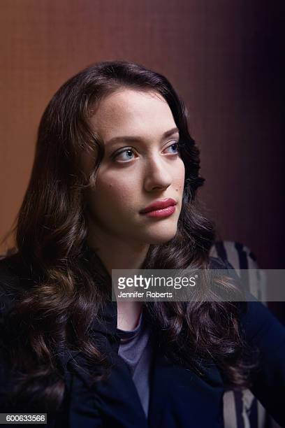 Actress Kat Dennings is photographed for Globe and Mail on September 7 2012 in Toronto Ontario
