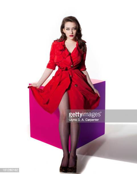Actress Kat Dennings poses for Complex Magazine on February 4 2011 in New York City PUBLISHED IMAGE