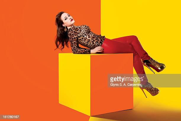 Actress Kat Dennings poses for Complex Magazine on February 4 2011 in New York City