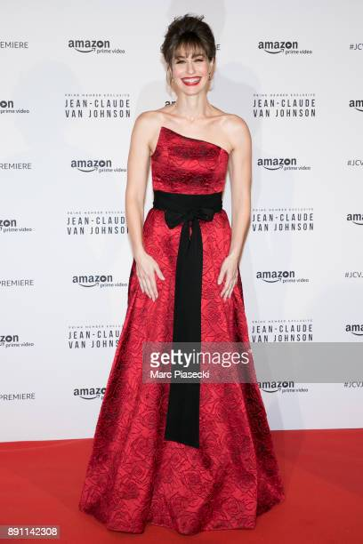 Actress Kat Foster attends the Amazon TV series 'Jean Claude Van Johnson' Premiere at Le Grand Rex on December 12 2017 in Paris France