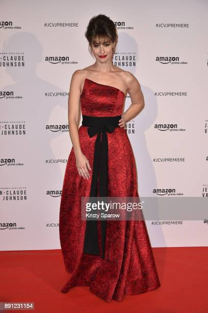 Actress Kat Foster attends the Amazon TV series 'Jean Claude Van Johnson' Premiere at Le Grand Rex on December 12 2017 in Paris France at Le Grand...