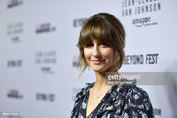 Actress Kat Foster attends the Beyond Fest screening and Cast/Creator panel of Amazon Prime Video's exclusive series JeanClaude Van Johnson at the...