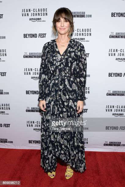 Actress Kat Foster attends the Beyond Fest screening of Amazon Prime Video's exclusive series 'JeanClaude Van Johnson' at The Egyptian Theatre on...