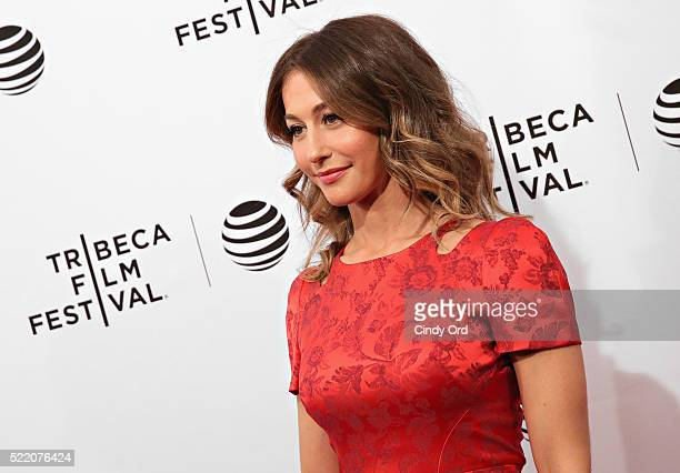 Actress Kat Foster attends the Rebirth Premiere during the 2016 Tribeca Film Festivalat SVA Theatre 2 on April 17 2016 in New York City