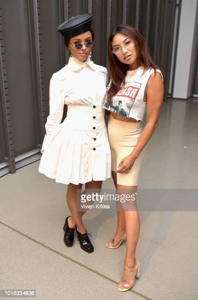 """Actress Kat Graham and Host of """"The Real"""" Jeannie Mai attend the SIMPLY LA Fashion Beauty Conference Powered By WhoWhatWear at The Americana at Brand..."""