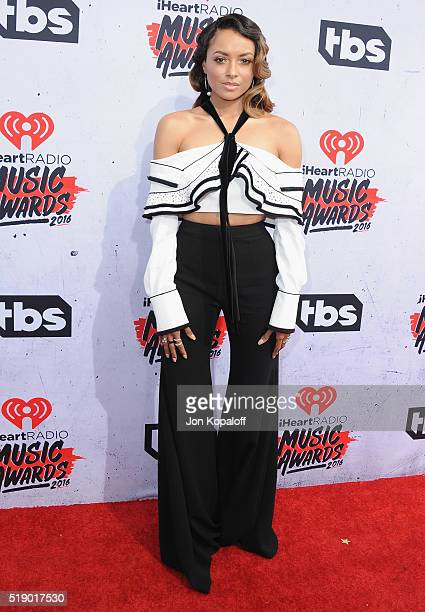 Actress Kat Graham arrives at iHeartRadio Music Awards on April 3 2016 in Inglewood California