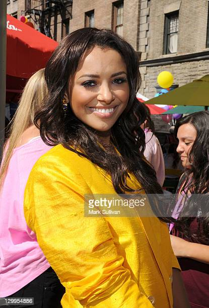 Actress Kat Graham arrives at Variety's 5th annual Power Of Youth event presented by The Hub at Paramount Studios on October 22 2011 in Hollywood...