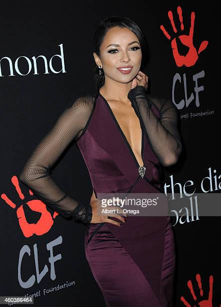 Actress Kat Graham at Rihanna's 1st Annual Diamond Ball Benefitting The Clara Lionel Foundation held at The Vineyard on December 11 2014 in Beverly...