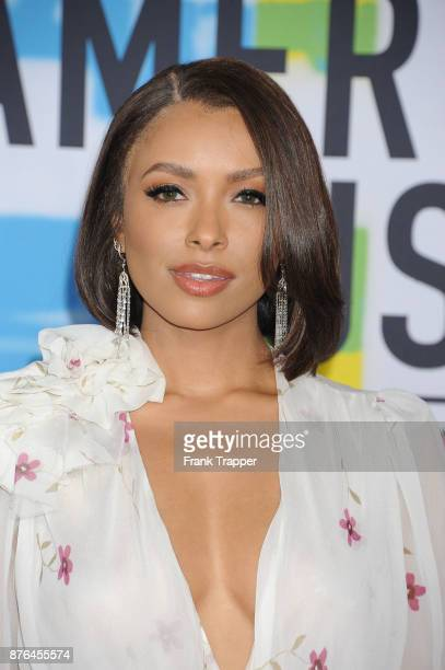 Actress Kat Graham attends 2017 American Music Awards at Microsoft Theater on November 19 2017 in Los Angeles California