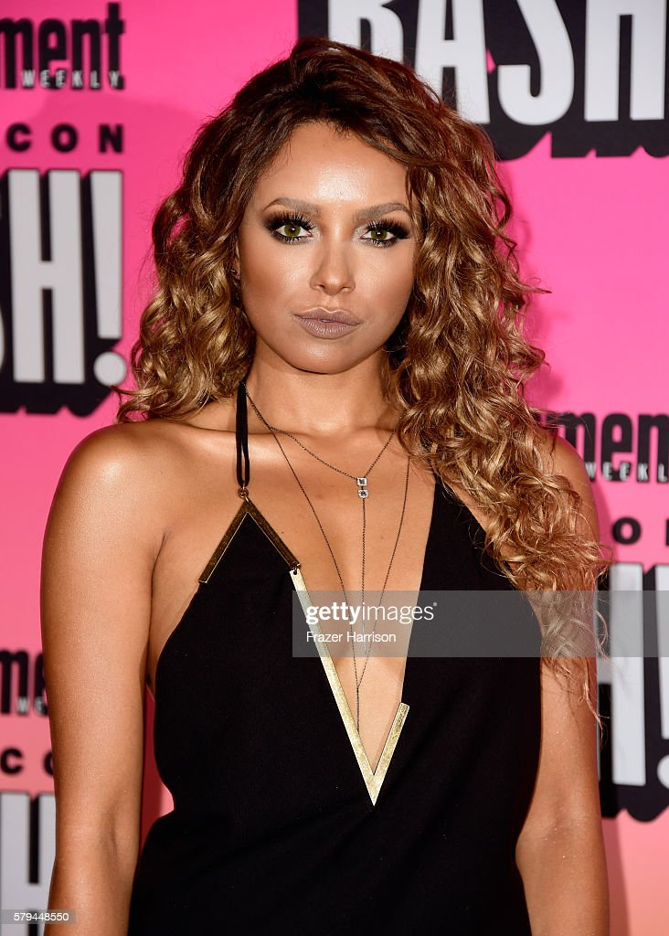 Actress Kat Graham attends Entertainment Weekly's Comic-Con Bash held at Float, Hard Rock Hotel San Diego on July 23, 2016 in San Diego, California sponsored by HBO.